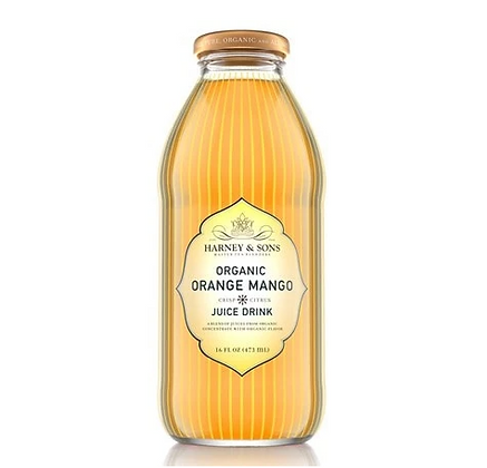 HARNEY AND SONS ORGANIC ORANGE MANGO JUICE 16oz