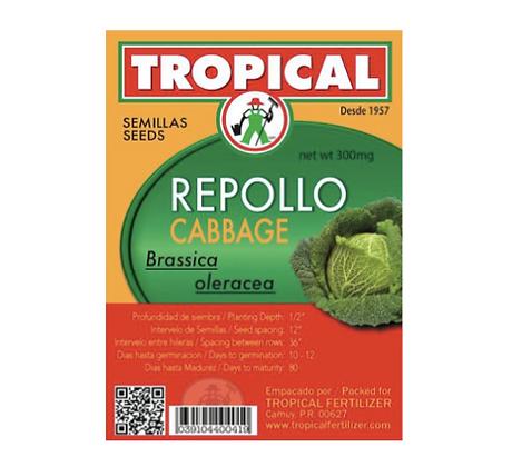 Semilla Repollo 2g / Seeds Cabbage 2g