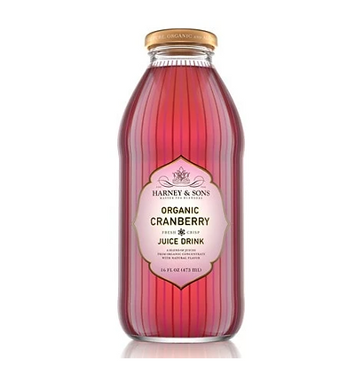 HARNEY AND SONS ORGANIC CRANBERRY JUICE 16oz
