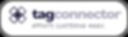 Tag Connector - Logo pod - full white bk