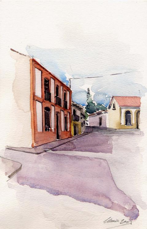 Calle del pueblo (autora: Maria Riera)