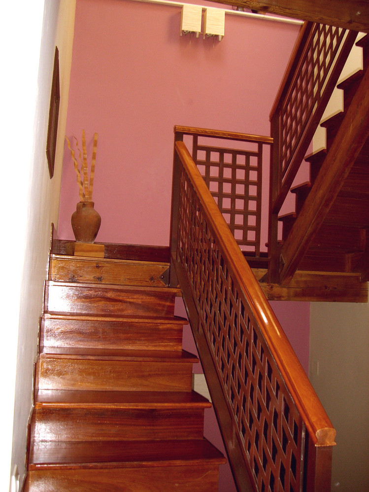 escalera a 3ª planta