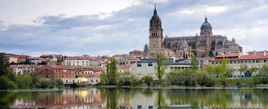 Desde el Rio Tormes Salamanca