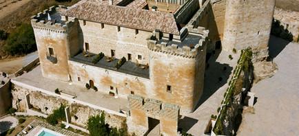 vista aerea del Castillo del Buen Amor