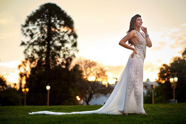 Sesion vestido de novia en exteriores