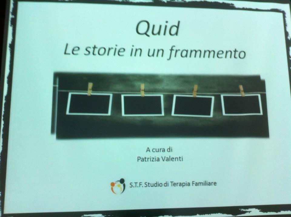 Quid: le storie in un frammento