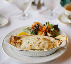 Crepe with Salad