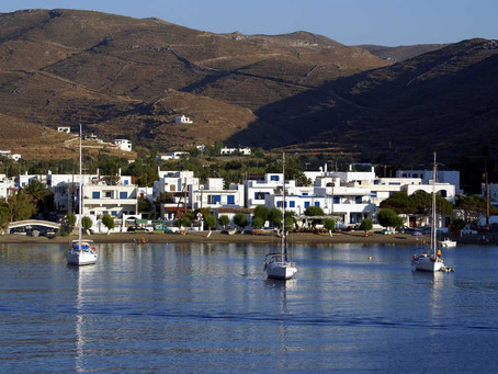 The island of Kythnos