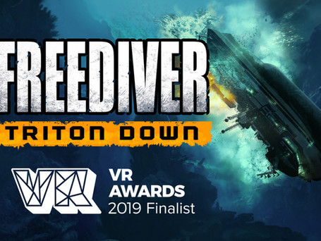 FREEDIVER is a Finalist for VR Game of the Year!