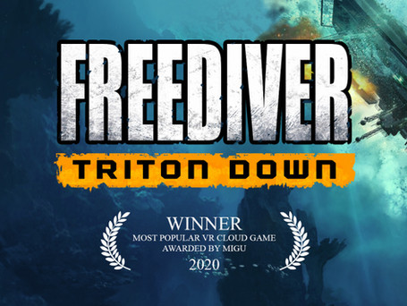 FREEDIVER is Officially Award-Winning!