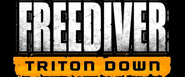 FREEDIVER: Triton Down Logo