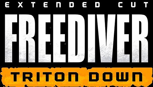 FREEDIVER Triton Down Logo