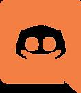 Orange Discord logo