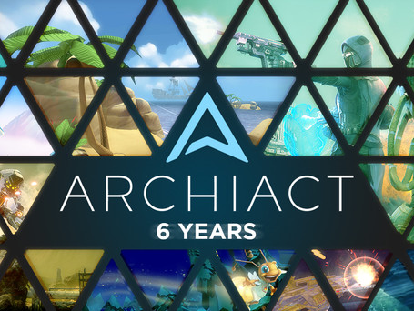 Celebrating Archiact's 6th Anniversary with Reduced Prices!