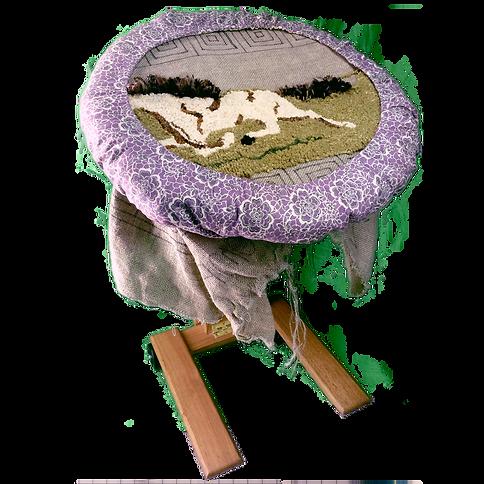 Rug Snuggle on Large Frame