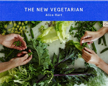 Penne with Asparagus Pesto & White Beans by Alice Hart fromThe New Vegetarian (Square Peg / Penguin