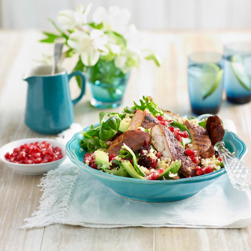 Chicken salad with a twist 04