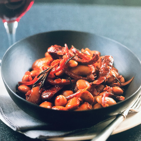 Chorizo & Butter Bean Tagine
