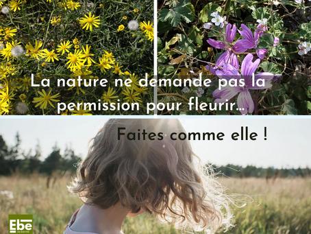 Venez fleurir en pleine nature