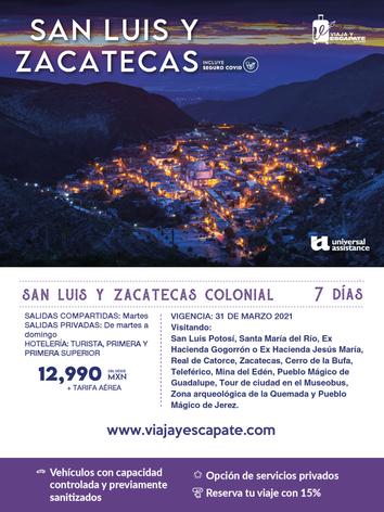 SAN LUIS Y ZACATECAS