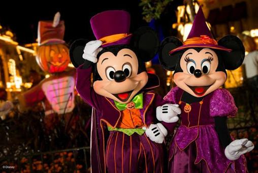 Halloween en Disney