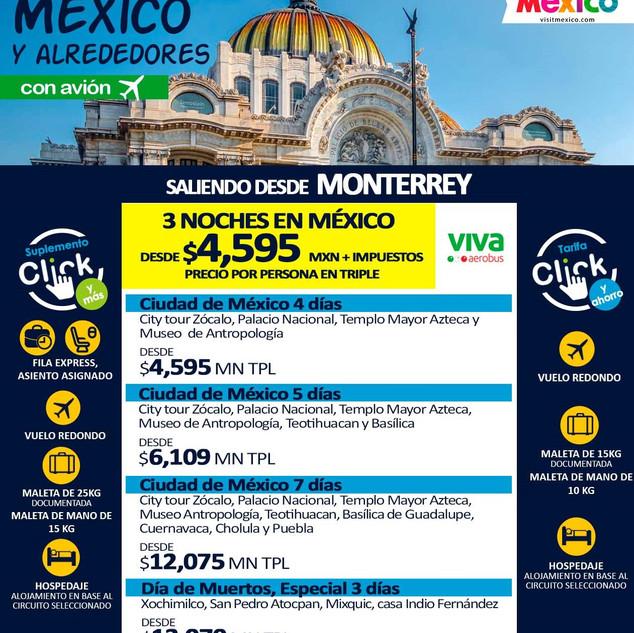 MÉXICO Y ALREDEDORES