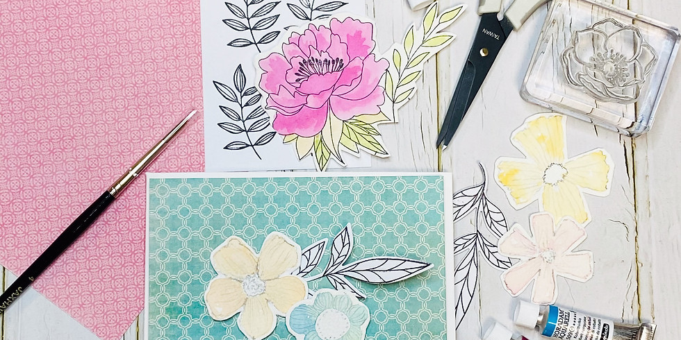 Watercolour Floral Cards