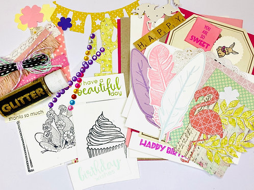 DIY Card Kit - Pinkalicious