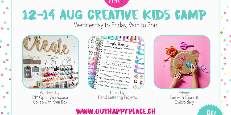 Summer Kids Camp: 12-14 August 2020