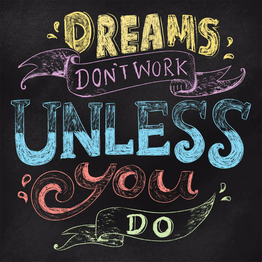 Dreams Hand Lettering_rawpixel