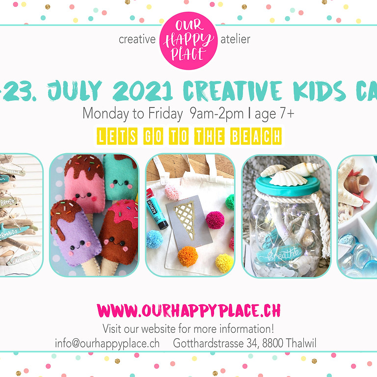 SOLD OUT: Summer Creative Kids Camp #2