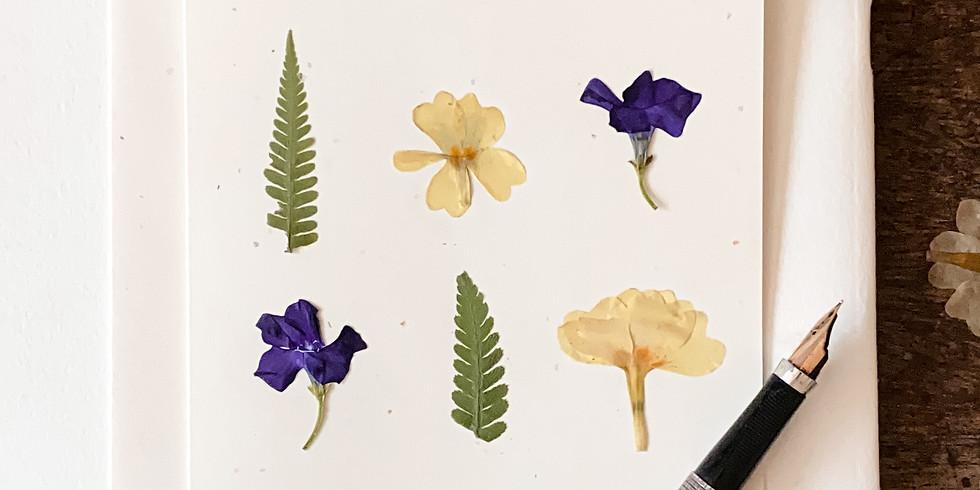 Herbarium Cards Workshop