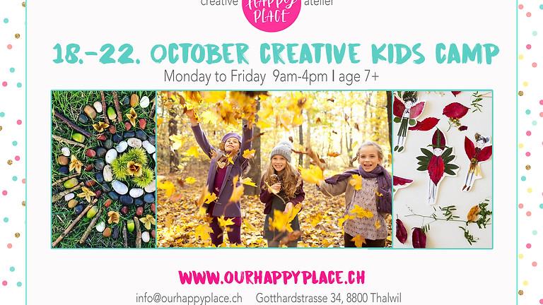 Fall Creative Kids Camp