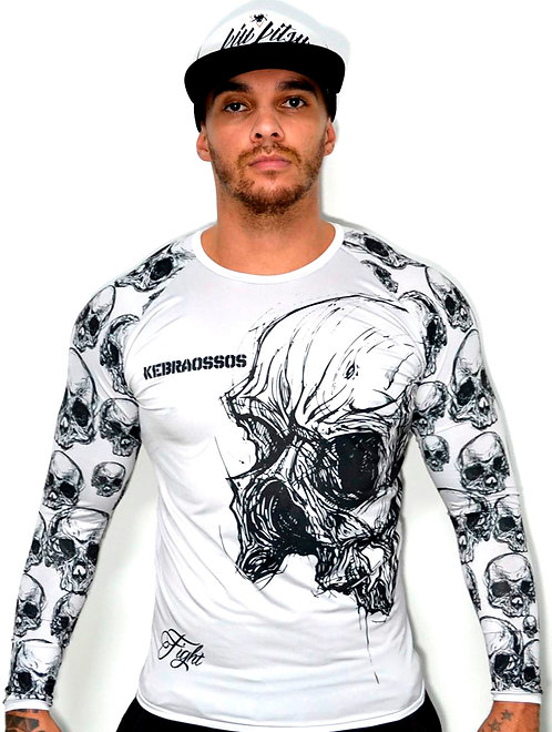 Rash Guard Broken Skull Kebraossos