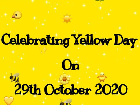 How Lovely Yellow Is ?? Celebrate with the Pre-schoolers...