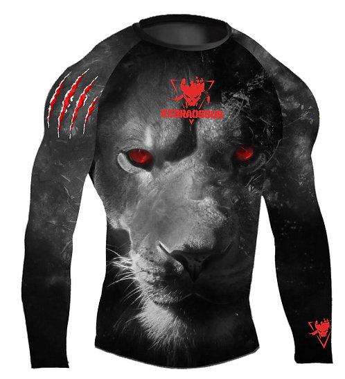 RASHGUARD - RED LION--