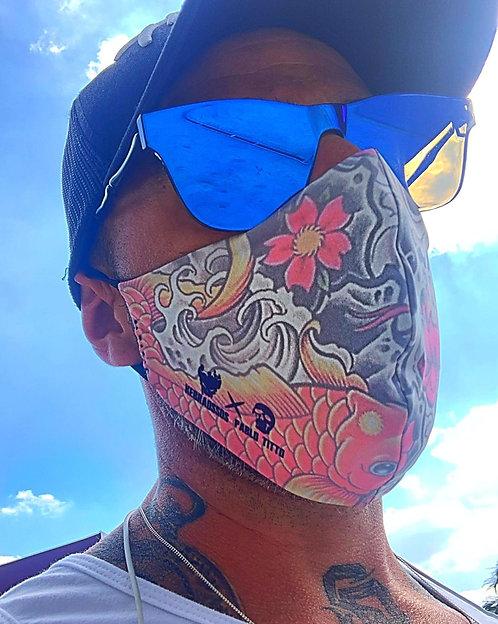 Máscara lavável kebraossos dupla face by Pablo Titto Oriental -md1