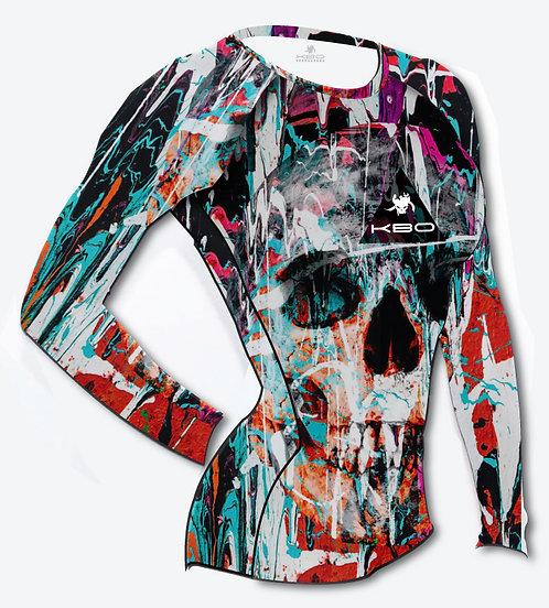 Body Kebraossos Caveira multicolor