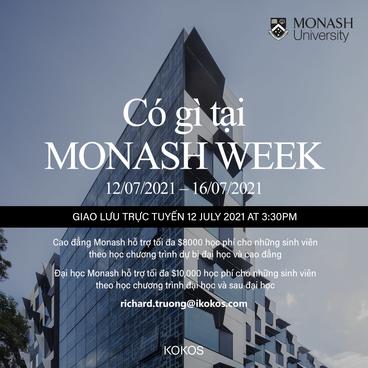 Có gì tại Monash Week?
