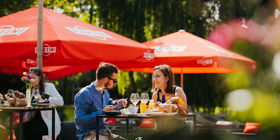 EAT & MEET / Dating night concept