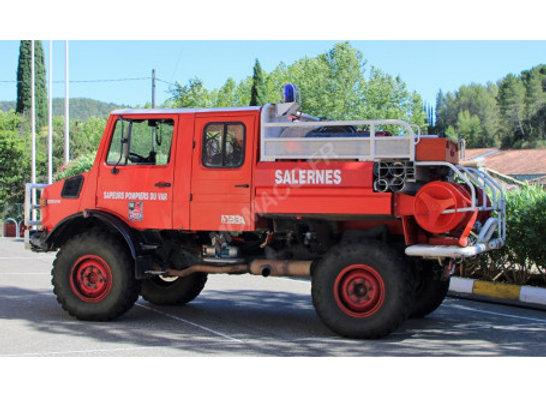"MERCEDES-BENZ UNIMOG 1550 SDIS ""83 - SALERNES"""