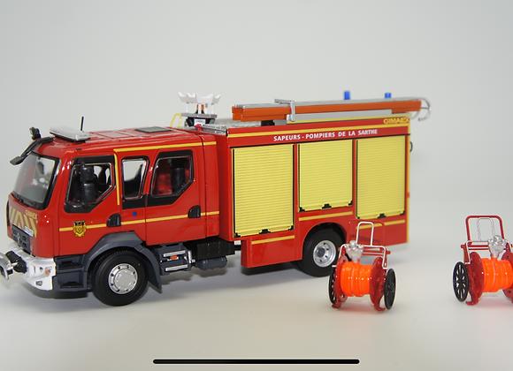 116288 RENAULT D15 - FPTSR GIMAEX - SDIS 72