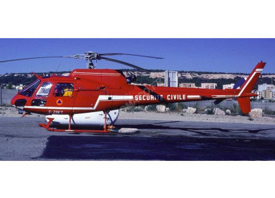 AEROSPATIALE AS 350 ECUREUIL SECURITE CIVILE ROUGE