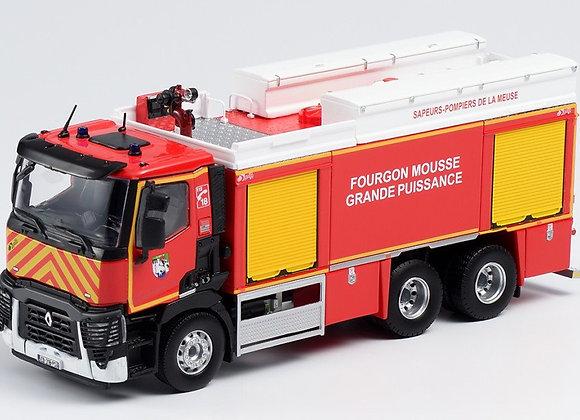 Renault C380 P 6x4 FMOGP Gallin SDIS 55 Pompier de la Meuse 116287 Eligor