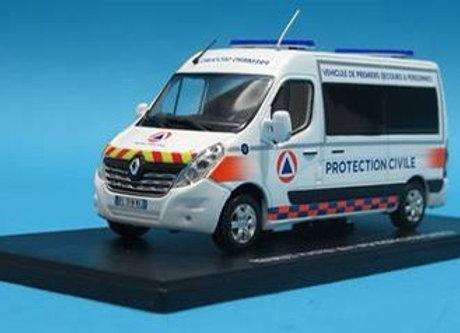 116798 - RENAULT MASTER 2014 VPSP PROTECTION CIVILE 21