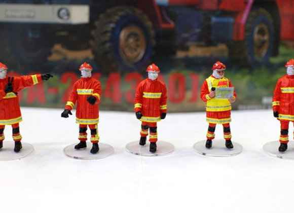 Alerte0075 Lot de 5 Figurine BMPM