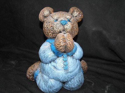 Praying Bear in PJ's bank
