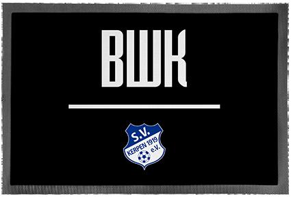 """Fussmatte """"BWK"""""""