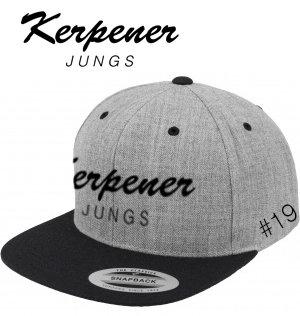 """Kappe Snapback """"Kerpener Jungs"""" personalisiert"""