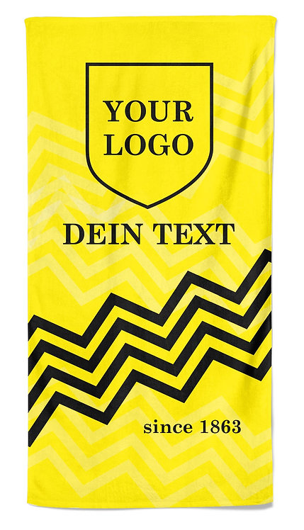 "Team Towel - Handtuch ""waves"" 70 x 140 cm"